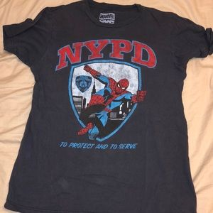 Used marvel NYPD shirt